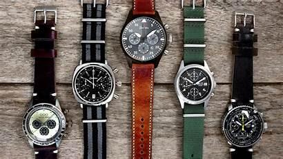 Pilot Chronograph Brands Functions Watchgecko Strap Nato