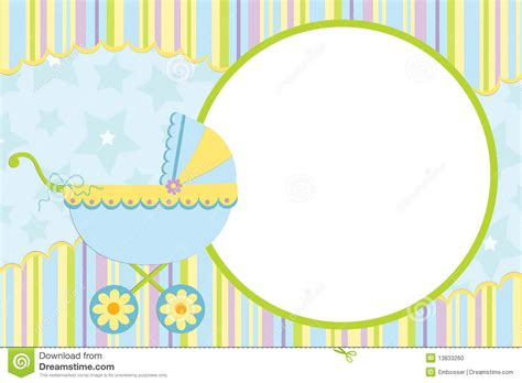 baby template template for baby s photo album stock vector illustration of page 13833260