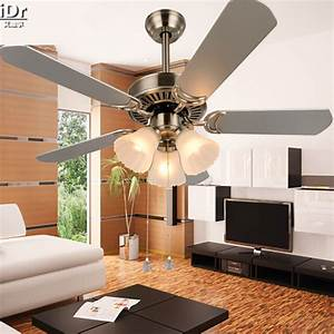 Modern minimalist living room ceiling fan light lights