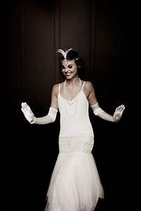 Robe Année 20 Vintage : mode ann es 20 robe de mari e on s 39 inspire de la mode des ann es 20 elle ~ Nature-et-papiers.com Idées de Décoration