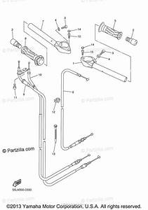 Yamaha Motorcycle 2005 Oem Parts Diagram For Steering Handle