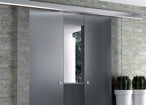 beau installer une porte coulissante a galandage 3 With installer une porte coulissante