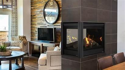 Fireplace Peninsula Gas Majestic Pearl Ii Fireplaces