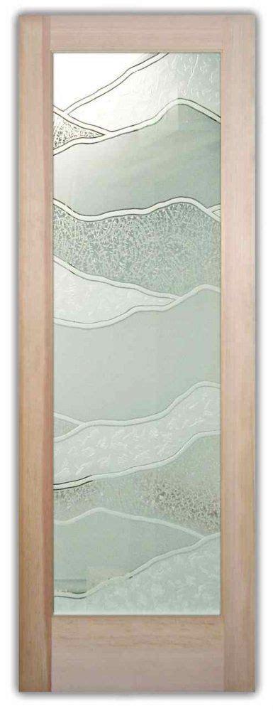 interior glass doors etched glass interior door