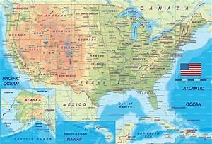 Usa Map Region Area