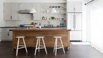 islands in small kitchens simo design puts large kitchen island on wheels