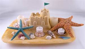 Recreate Your Vacation With This Sandcastle Beach Decoration
