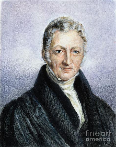 malthus 1766 1834 photograph by granger