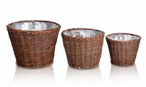 Cache Pot Tressé : cache pot circulaire en osier tress diam tre 55cm 43 99 ~ Teatrodelosmanantiales.com Idées de Décoration