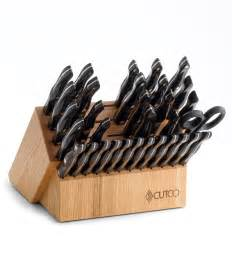 cutco kitchen knives ultimate set with steak knives with block 37 pieces