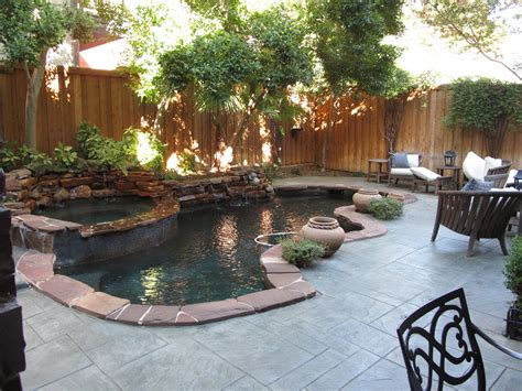 Small Pool Backyard by Hill Country House Design A Beautiful And Gracious
