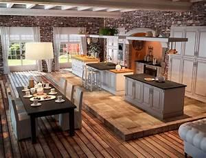 Table Cuisine Moderne : am nagement de cuisine les tapes essentielles ~ Teatrodelosmanantiales.com Idées de Décoration