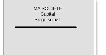 siege social societe generale modification de l 39 objet social sarl proces verbal