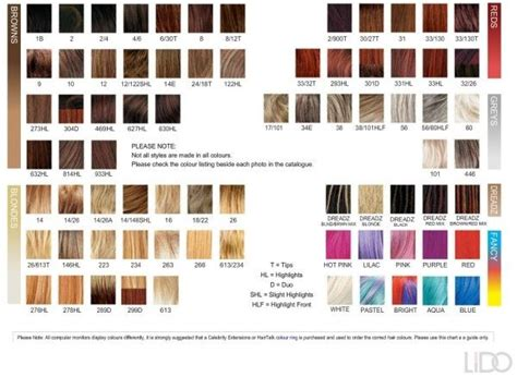 25+ Best Ideas About Hair Color Charts On Pinterest