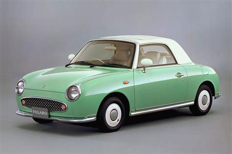 japanese cars nissan figaro 1989 japanese classic car muscle cars