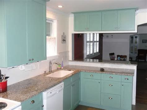 light teal kitchen cabinets teal kitchen cabinets how to paint them homesfeed