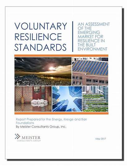 Resilience Standards Voluntary Cadmus