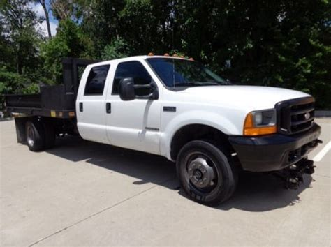 how petrol cars work 2001 ford f series regenerative braking buy used 2001 ford f 450 7 3 diesel crew cab 4x4 flatbed dump bed all works runs great in irving