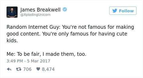 James Breakwell Is Back With Even More Hilarious Tweets ...