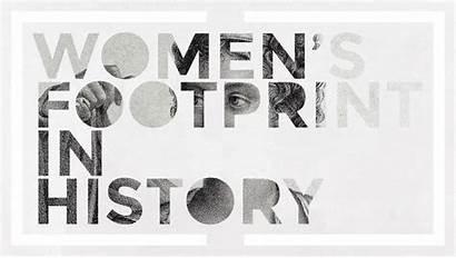 March International History Womens Timeline Celebrating Footprint