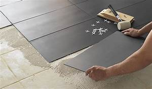 comment changer son sol sans ragreage parquet dalle de With sol pvc sur carrelage sans ragréage