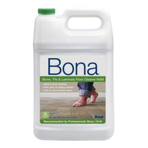 Bona Laminate Floor Cleaner Home Depot by Bona 128 Oz Tile And Laminate Cleaner Wm700018172