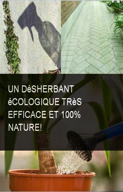 Désherbant Naturel Efficace Un D 233 Sherbant 233 Cologique Tr 232 S Efficace Et 100 Nature Jardinage D 233 Sherbant 233 Cologique