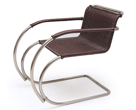cantilever chair mr 20 by ludwig mies der rohe on