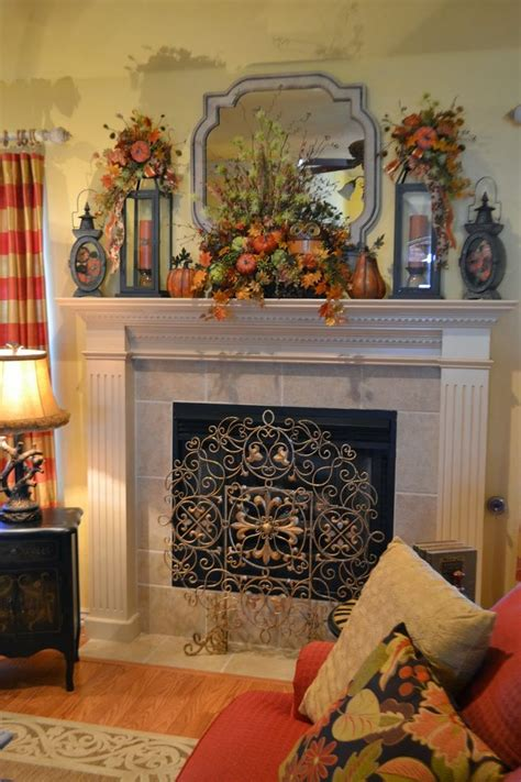 Ideas For Mantels by 212 Best Fall Mantle Decorating Ideas Images On