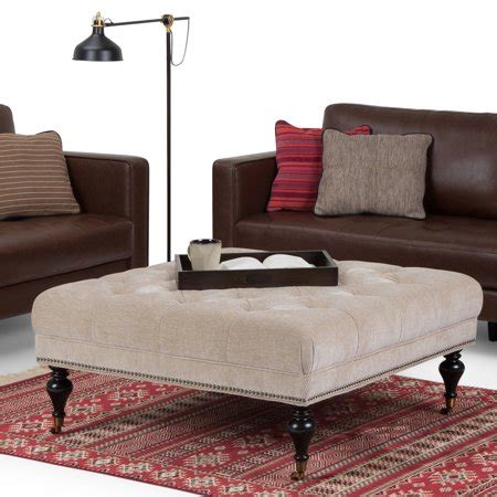 Shop wayfair for the best ottoman as coffee table. Simpli Home Marcus Large Square Coffee Table Ottoman - Walmart.com