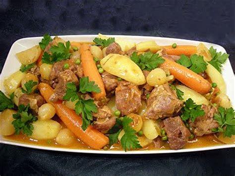 cuisiner les abats d agneau navarin d 39 agneau aux légumes de printemps la recette
