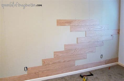 plank a wall diy plank wall spoonful of imagination