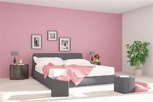 Wandgestaltung Schlafzimmer Lila : wandgestaltung im schlafzimmer zehn kreative ideen ~ Markanthonyermac.com Haus und Dekorationen