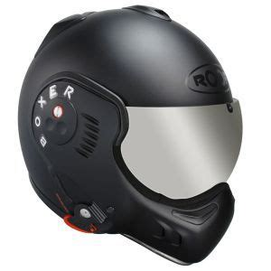 casque modulable roof boxer v8 shadow noir mat safety first motorcycle helmets helmet