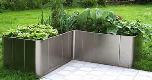 Garten im quadrat hochbeet in l form quotcorner 163 for Garten planen mit deko bonsai kunststoff