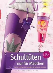 Schultüten Für Mädchen : schult ten nur f r m dchen mit kleinen geschenkideen am verschluss gudrun schmitt ~ Yasmunasinghe.com Haus und Dekorationen