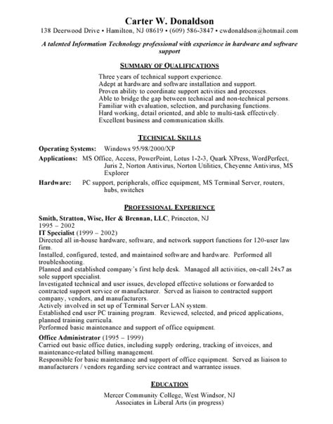 help desk support resume help desk support free resumes