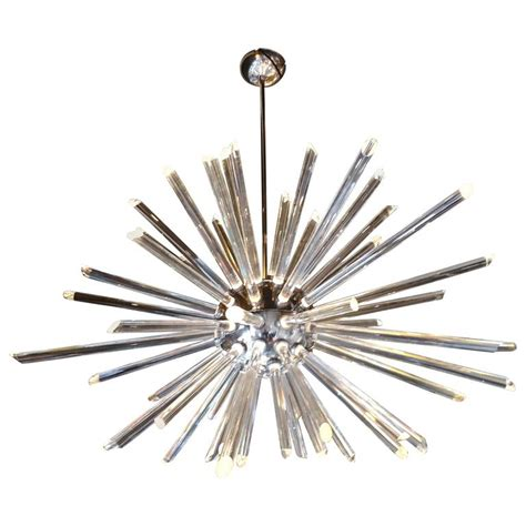 Buy Sputnik Chandeliers For Sale by Mid Century Modern Glass Sputnik Chandelier For Sale At