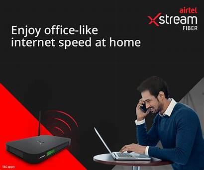 Airtel Fiber Xstream Speed Router Wi Fi