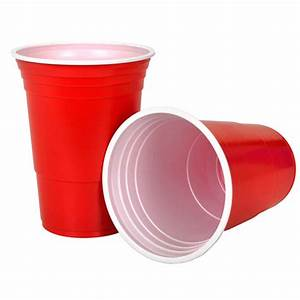 Red Cups 50pk | Beer Pong Suppliers NZ