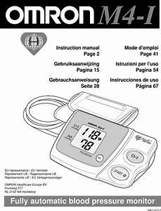 Omron M4 I Users Manual