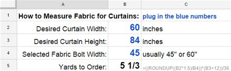 how to measure for curtains curtain calculator for
