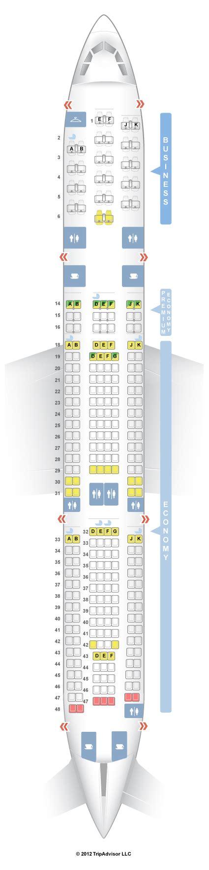 airbus a340 300 stoelindeling seatguru seat map air airbus a340 300 343