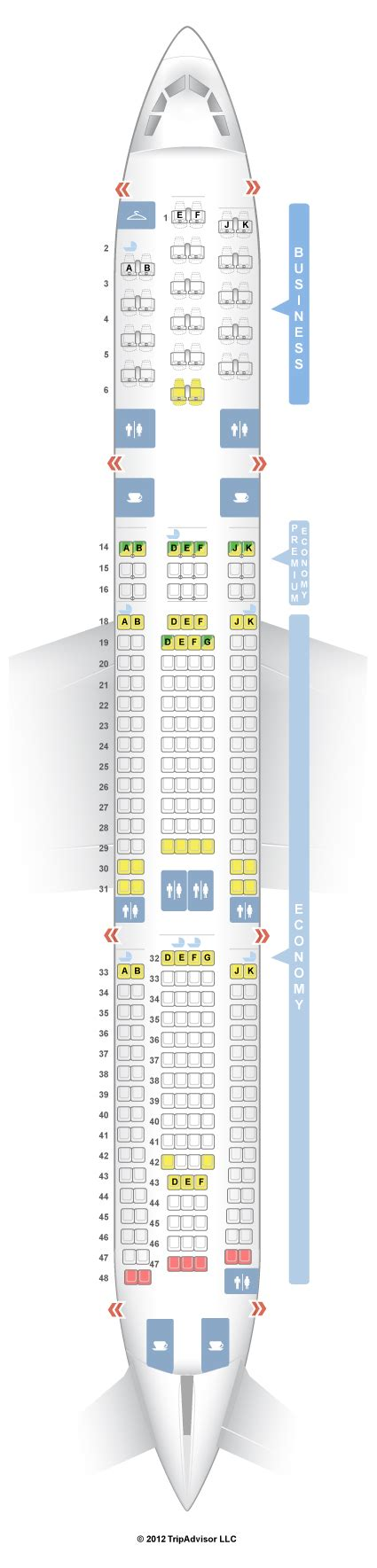 plan siege air seatguru seat map air airbus a340 300 343
