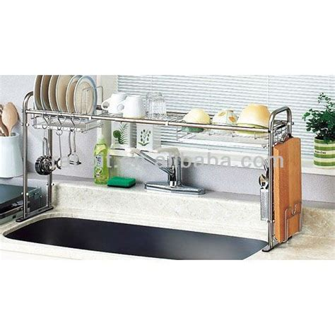 over the sink organizer stainless steel expandable over the sink shelf form and