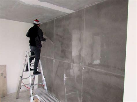 Wand In Betonoptik by Wohnideen Wandgestaltung Maler 8m Hohe Wandgestaltung In
