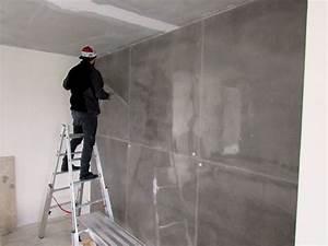 Wand In Betonoptik : wohnideen wandgestaltung maler 8m hohe wandgestaltung in xxl sichtbetonoptik betonlook pur ~ Sanjose-hotels-ca.com Haus und Dekorationen