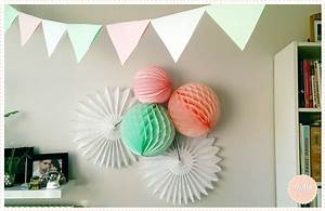 Faire Une Guirlande En Papier : diy d anniversaire comment faire une guirlande de fanions en papier hello kim ~ Melissatoandfro.com Idées de Décoration
