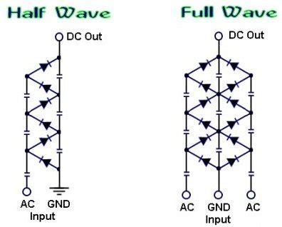 Diy Homemade Voltage Multiplier Under Repository Circuits
