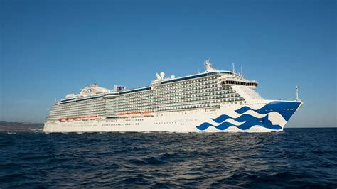The First Princess Cruise Ship Built Specifically For The Chinese Market Arrives In Shanghai ...